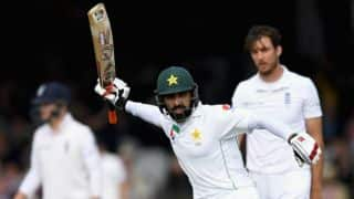 Misbah-ul-Haq slams ton on Lord's debut vs England on Day 1, 1st Test