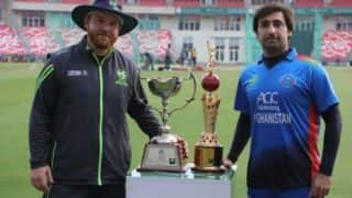Afghanistan look to win t20 series against Ireland in Dehradun