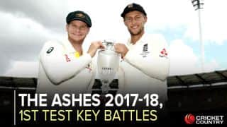 Key clashes for Ashes 2017-18 opener