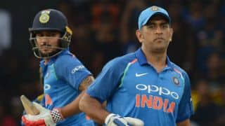 Manish Pandey: I enjoy batting with MS Dhoni