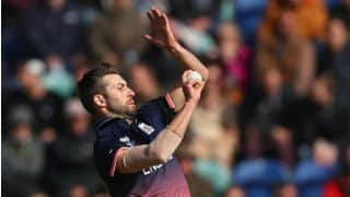 Champions Trophy 2017: Eoin Morgan, Kane Williamson praise Mark Wood post England's victory over New Zealand