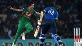Taskin becomes 5th Bangladesh bowler to take ODI hat-trick; 41st overall