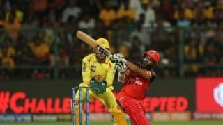 पार्थिव पटेल के अर्धशतक से बैंगलुरू ने चेन्नई के सामने रखा 162 का लक्ष्य