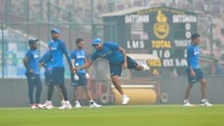 1st T20I: Despite growing pollution concerns, Rohit's India ready for cricket