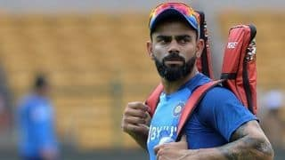 """Exactly what we wanted to do,"" Kohli defends decision to bat first"