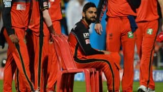 RCB vs SRH, IPL 2016: AB de Villiers's and my wicket big blow, says Virat Kohli