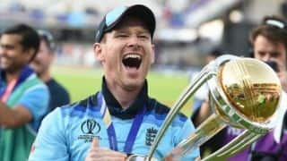 To get over the line means the world to us, says Eoin Morgan as England beat New Zealand to win World Cup