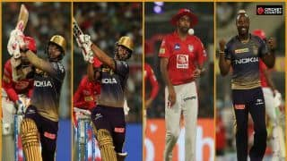 Kolkata vs Punjab highlights: Russell gets a life, Rana has a blast