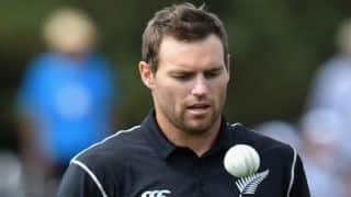 Pakistan vs New Zealand ODIs: George Worker replaces injured Doug Bracewell