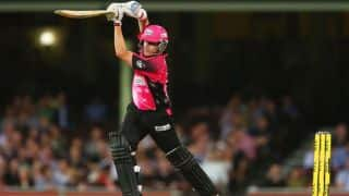 Live Cricket Score: Sydney Sixers vs Perth Scorchers, second semi-final, Big Bash League 2014