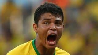 FIFA World Cup 2014: Brazil captain Thiago Silva hits out at critics over shedding tears