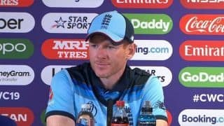 Eoin Morgan tells his England players to embrace being in World Cup final