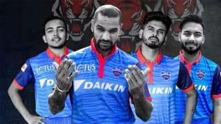 Delhi Capitals unveil official jersey for IPL 2019