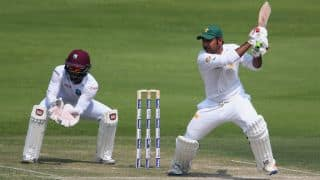 PAK vs WI, 2nd Test, Lunch Report: Sarfraz Ahmed, Mohammad Nawaz hold fort