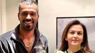 Mumbai Indians owner Nita Ambani pays surprise visit to Hardik Pandya in London