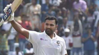 3rd Test: Rohit Sharma record maiden Test double, equals Virender Sehwag for 500 runs in three-Test series