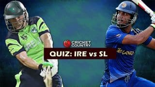 QUIZ: Who was MOM the last time IRE faced SL in an ODI?