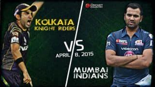 Live Cricket Score Kolkata Knight Riders vs Mumbai Indians IPL 2015: KKR win by 7 wickets