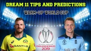 Dream11 Prediction: AUS vs ENG Team Best Players to Pick for Today's Match of World Cup 2019 Warm-up Match 3 between Australia and England at 3:00 PM