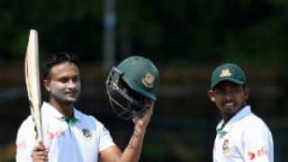 SL vs BAN, 2nd Test, Day 3: Shakib leads superlative batting show to put visitors in driver's seat