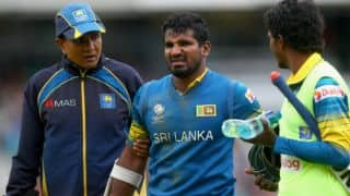 Kusal Perera to miss Zimbabwe tour due to hamstring injury