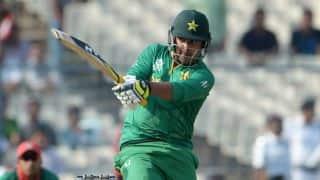 Pakistan vs Ireland: Sharjeel Khan hits 3rd fastest ODI 150