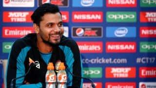 ICC CT 2017: Mortaza Pre-Match Press Conference, AUS vs BAN, Match 5