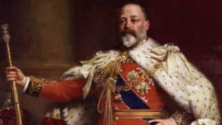 Sundries: Edward VII: The monarch's deeds on the cricket ground