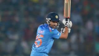 Rohit Sharma departs after 60-run stand