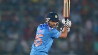 India vs Sri Lanka ICC World T20 2014 final: Rohit Sharma departs after 60-run stand