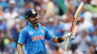 Virat Kohli's aggressive approach taking India towards big total against Pakistan in ICC Cricket World Cup 2015