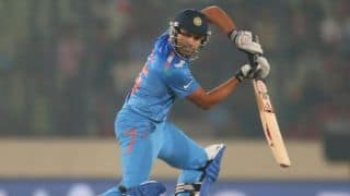 India off to a slow start