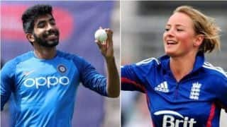 England cricketer Danielle Wyatt takes a cheeky dig at Jasprit Bumrah's latest gym selfie