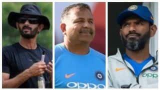 Vikram Rathour replaces Sanjay Bangar as India Batting Coach, Bharat Arun, R Sridhar retain
