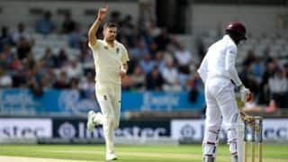 England vs West Indies: James Anderson one short of 500 wickets at lunch on Day 1, 3rd Test