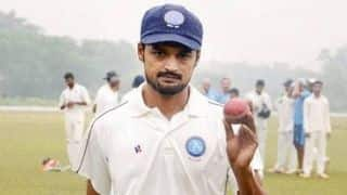 Shahbaz Nadeem added to India's squad for Ranchi Test