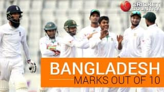 Bangladesh vs England, 2016 Test series: Hosts' marks out of 10