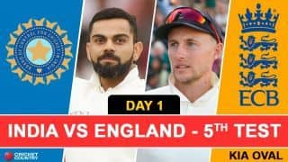 Highlights India vs England 2018, 5th Test Full Cricket Score and Result: Indian pacers dominate despite fifties from Alastair Cook and Moeen Ali