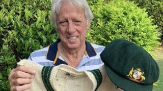 Australian Legend Jeff Thomson to Auction Baggy Green and Vest for Bushfire Victims