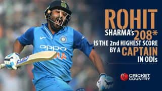 Rohit Sharma's 208*, India vs Sri Lanka at Mohali: statistical highlights