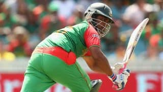Tamim Iqbal and Mahmudullah put up 50-run stand against Scotland in ICC Cricket World Cup 2015