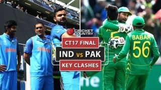 ICC Champions Trophy 2017 Final: India's batting vs Pakistan's bowling and other key battles
