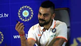 Virat Kohli fresh after long break