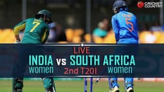 Live cricket score, India Women vs South Africa Women, 2nd T20I: Eves win