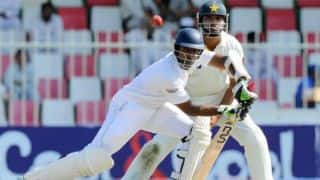 Pakistan steady after SL declare at 428/9