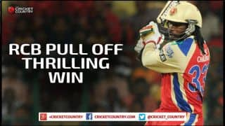 Mandeep Singh leads RCB to 7-wicket win over KKR in IPL 2015 Match 33 at Bangalore