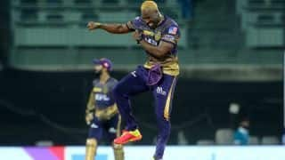 IPL 2021, Kolkata Knight Riders vs Mumbai Indians, 5th Match: Andre Russell held the pitch responsible
