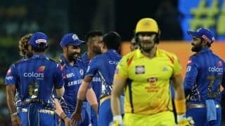 CSK vs MI LIVE: Powerplay update – Chennai Super Kings slump to 40/3 in six chasing 156 to win