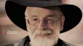 Sir Terry Pratchett — a man who understood cricket