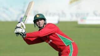 Brendan Taylor brings up 29th ODI fifty